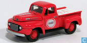 Model cars - Johnny Lightning - Ford F-100 'Coca-Cola'