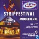 Stripfestival Middelkerke van 17/7 tot 08/8/2004