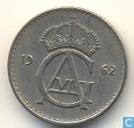 Schweden 25 Öre 1962