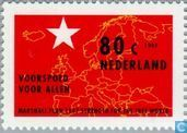 Postage Stamps - Netherlands [NLD] - 50 years of Marshall plan