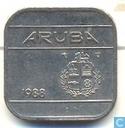 Aruba 50 cents 1988