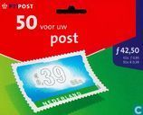 Fifty for your post
