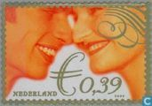 Postage Stamps - Netherlands [NLD] - Wedding Stamp