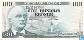 IJsland 100 Kronur