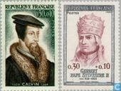 Calvin, John and Pope Sylvester II