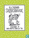 R.Crumb Sketchbook,  Mid 1969 to End of '70