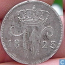 Niederlande 25 Cent 1823 B