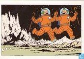Kuifje 046 ON A MARCHE SUR LA LUNE