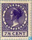 Postage Stamps - Netherlands [NLD] - Wilhelmina type ' Veth '