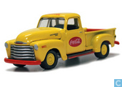 Voitures miniatures - Johnny Lightning - Chevrolet Pick Up 'Coca-Cola'