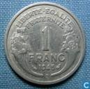 Frankrijk 1 franc 1945 (B)