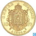 France 50 francs 1864