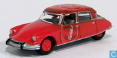 Modelauto's  - Johnny Lightning - Citroën DS 19 'Coca Cola'