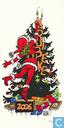 Mercatorstripbeurs kerstkaart 2006 Kruibeke