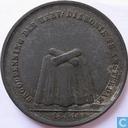 """Broodpenning 1861 """"Hervormde Diakonie te Amsterdam"""""""