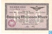Köln 20 Miljoen Mark 1923