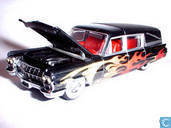 Cadillac Fleedwood with flames