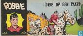 Bandes dessinées - Robbie - Drie op een paard