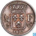 France ¼ franc 1829 (W)