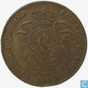 Belgium 2 centimes 1851