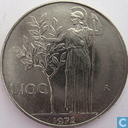 Italy 100 lire 1972