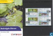 Postzegels - Nederland [NLD] - Bedreigde diersoorten