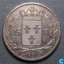 Frankreich 5 Franc 1824 (W)
