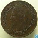 Frankreich 2 Centime 1856 (K)
