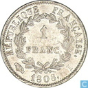 France 1 franc 1808 (I)
