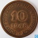 Boordgeld 10 cent 1948 Holland Amerika Lijn