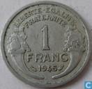 Frankrijk 1 franc 1945 (zonder letter)