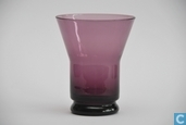 Verre / Cristal - Kristalunie - Libel Waterglas paars