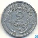 Frankrijk 2 francs 1941 (aluminium)