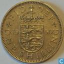 Monnaies - Royaume-Uni - Royaume-Uni 1 shilling 1960 (anglais)