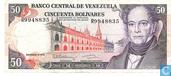 Venezuela 50 Bolívares 1992