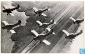 Formatie lesvliegtuigen voor adelborsten - Fokker S-11