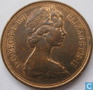 United Kingdom 2 new pence 1971