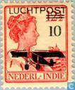 Queen Wilhelmina Overprint