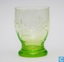 Perfect Waterglas 90 mm Vert-chine (Decor Cut)