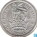Coins - United Kingdom - United Kingdom 1 shilling 1946 (English)