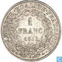 Frankrijk 1 franc 1871 (K)