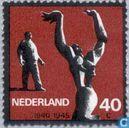 Timbres-poste - Pays-Bas [NLD] - Monuments de la résistance