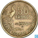 Frankrijk 50 Franc 1954 (B)