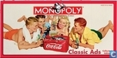 Monopoly Coca-Cola Classic Ads Collector's Edition