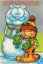 Garfield kerst en Nieuwjaarskaart