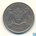 Botswana 25 Thebe 1989