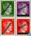 Surimpression sur timbres Reich