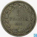 Belgium 5 francs 1832
