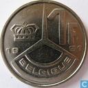 Monnaies - Belgique - Belgique 1 franc 1991 (FRA)