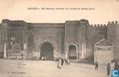 Bab Minsour, construite sous le règime de Moulay-Ismael